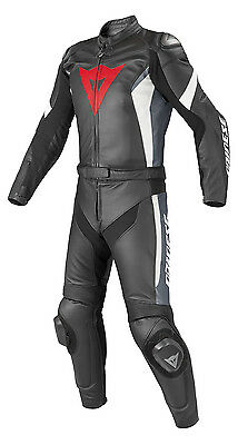 Dainese Crono Two Piece Motorcycle Leather Suit EU 52 UK 42 New With Tags