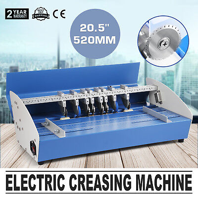5in1 520mm Electric Creasing Machine Creasers Paper