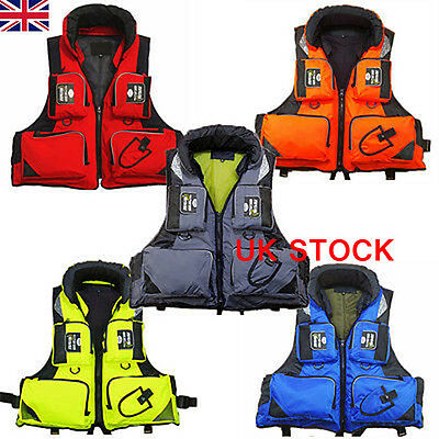 UK Adult buoyancy sailing Drifting Life saving vest diving Life jacket Aid