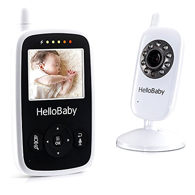 Wireless Wifi Pet Baby Monitor Two Way Audio Night Vision Alarm LCD + Camera New