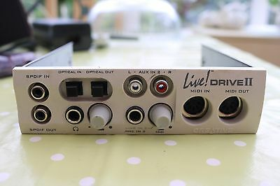 "Creative Sound Blaster Live! Drive II 5.25"" Front I/O Panel"