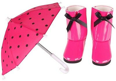 Chad Valley Design-a-Friend Umbrella and Wellies Outfit