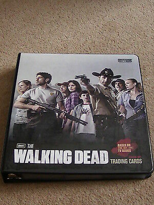 The Walking Dead Season 1 Trading Cards and Binder Cryptozoic