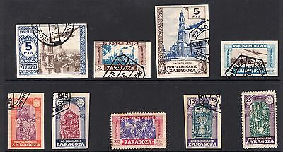 Spain Zaragoza 1945 issues see scans x 2