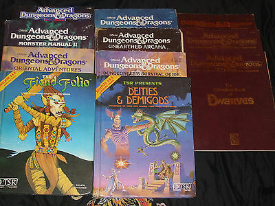 Advanced Dungeons and Dragons Books 1&2 Ed.