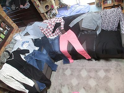 Bulk Lot Women's 8/X-Small winter clothes: Country Road/Just Jeans/Factorie/Mavi