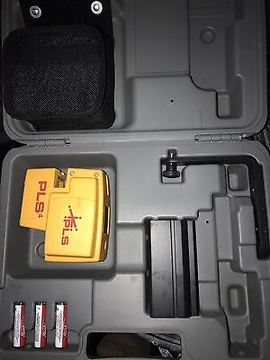 Laser Level PSL4 New In Case W Tripod Mount And Arm Bracket Unused