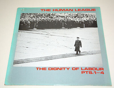 """The Human League - The Dignity of Labour Parts. 1 - 4.  12"""" Single 1979"""