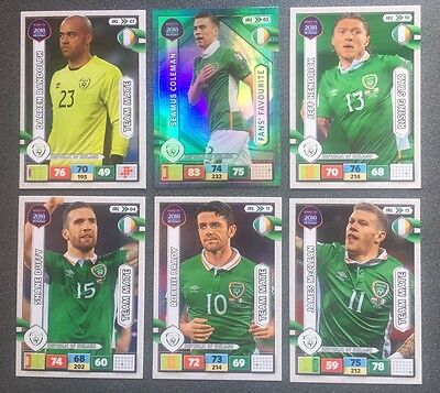 6 Republic Of Ireland Road To 2018 World Cup Russia Panini Adrenalyn Xl Cards