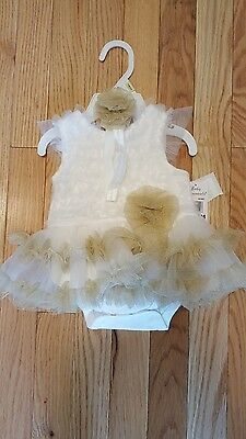 Baby Essentials tutu dress/one piece. New! Size 3 months.