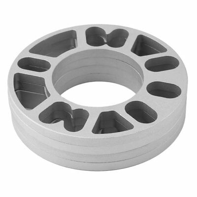4X Thickness 10mm Alloy Wheel Spacers Shims Universal Car Spacer 4 & 5 Stud Fit