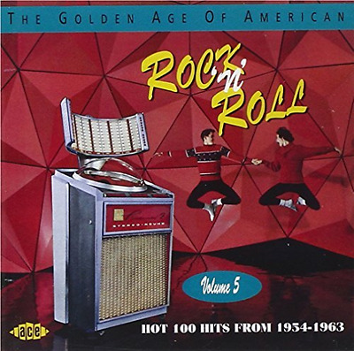 Various Artists-The Golden Age Of American Rock 'N' Roll  CD NEU