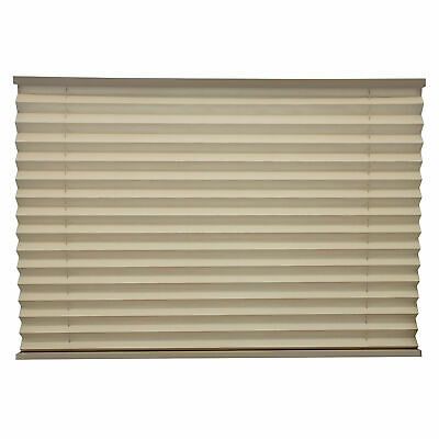 """RV Camper Pleated Blind Shades Cappuccino 62"""" x 38"""""""