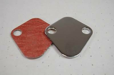 Fuel Pump Block-Off Plate Big Block Chevy V8 S2058
