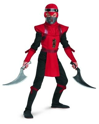 Red Viper Ninja Deluxe Costume Child