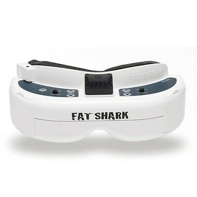 Fatshark FSV1076 Fat Shark Dominator HD3 HD V3 4:3 FPV Goggles Video Glasses Hea