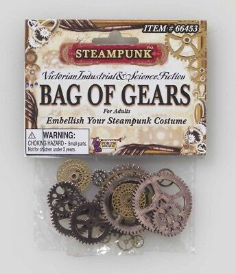Steampunk Bag of Gears Costume Accessory