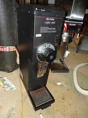 BUNN Model G3 BLK Automatic Gourmet Grocery Commercial Retail Coffee Grinder