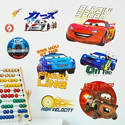 Disney 'Cars' 3D Adesivo da Parete Sticker Art Parete Parete décalques (p6I)