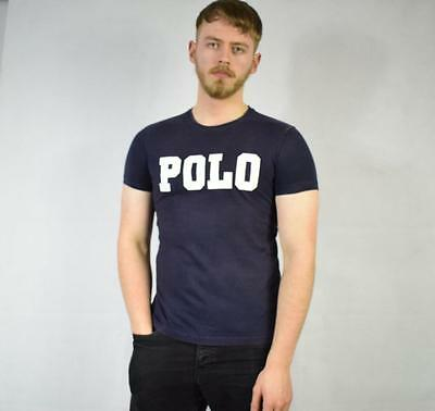 Small Vintage Ralph Lauren Polo Spellout T Shirt