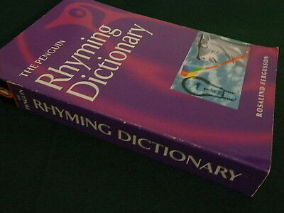 The Penguin Rhyming Dictionary Rosalind Fergusson Paperback Free Postage In Oz