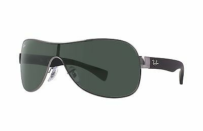Ray-Ban RB3471 004/71 Gunmetal Black Frame/Green Classic Lens 32mm