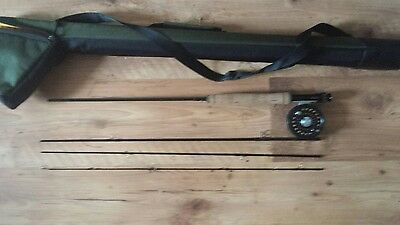 "GREYS GS2 7'6"" 3# fly rod System 2 reel"