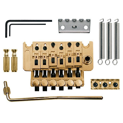 Ponte bridge per chitarra elettrica floyd rose dorato gold Boston TFR-203-G