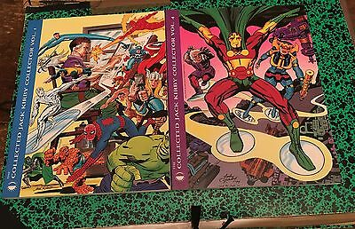 Lot 3 reliures Collected Jack Kirby Collector (1,2 4) NMint Tomorrows Publishing
