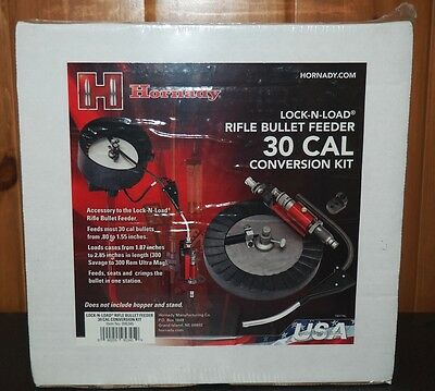 Hornady L-N-L .30 Cal. Rifle Bullet Feeder Conversion Kit-(095345) NIB