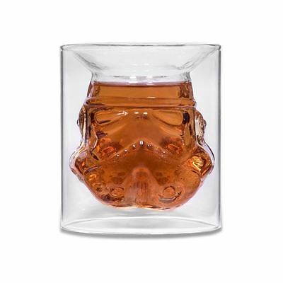 Star Wars Shepperton Design Original Stormtrooper Helmet Small Glass Tumbler Cup