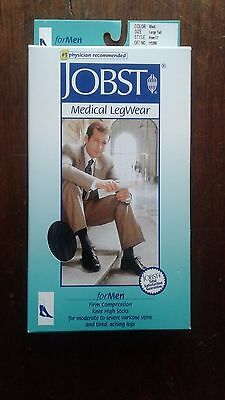 Jobst Compression Socks Large/Tall Knee Length Black *FREE SHIPPING