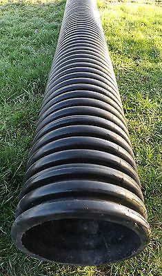"12"" Culvert Pipe, 12.5 Ft, Corrugated OD, Smooth ID"