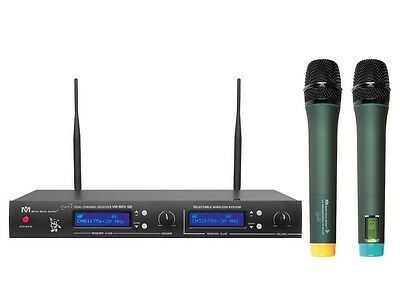 VM-82U G2 Dual Channel UHF Wireless Microphone System