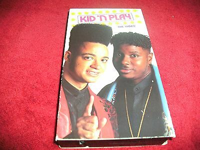 Kid n Play - The Video   1990 VERY RARE VHS TAPE Select Records