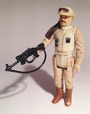 Vintage Star Wars Figure, REBEL COMMANDER Hoth, with ORIGINAL Weapon, 1980