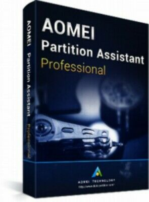 AOMEI Partition Assistant Pro Latest Edition  + Free Lifetime Upgrades