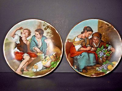 Two Deco Limited Fine Porcelain Decorative Plates Made In Malta