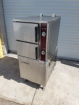 2011  Southbend  GCX-2S  Double  6  Pan  Steamer  Natural  Gas