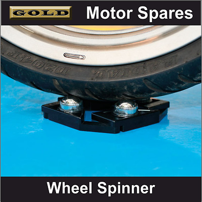 Laser - Motorcycle Wheel Spinner - Suitable for Servicing & Cleaning