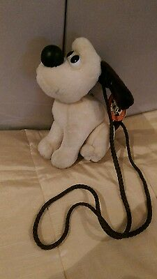 Lovely condition with TAG  Gromit Dog shoulder bag soft toy 18cm