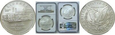 2006-S $1 Silver San Francisco Old Mint Commemorative Dollar NGC MS 70