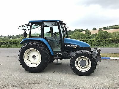 Newholland Tl90 4wd Tractor Only 2100 Hours