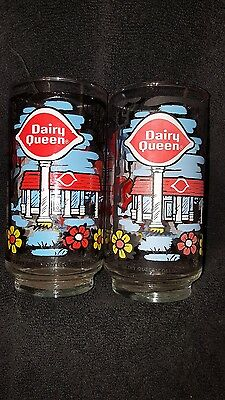 Vintage 1976 Dairy Queen Collector Series 1976 Glass DQ RARE