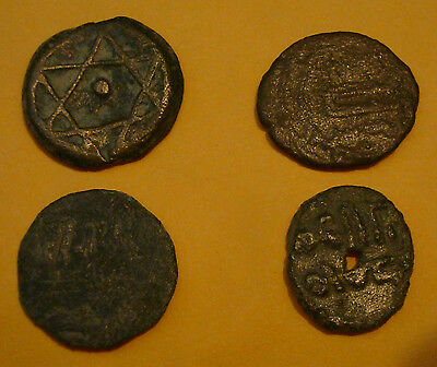 Four Assorted Medieval, Ancient Islamic Coins