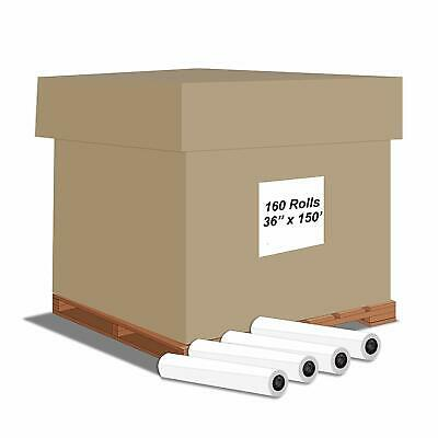 "Alliance Inkjet Rolls 36""x150'x2"" 20#  92 Bright, untaped Pallet Offer"