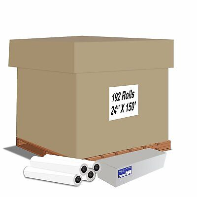 "Alliance Inkjet Rolls 24""x150'x2"" Untaped 20# 92 Bright Pallet Offer"