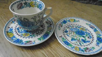 "MASONS IRONSTONE  ""REGENCY"" trio cup, saucer and plate in good order (2 lots)"