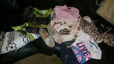 Girls clothes size 8-10 lot