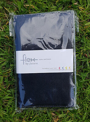 New Flex by Filofax First Edition Cover Notes and More Notebook & Jot Pad -Black